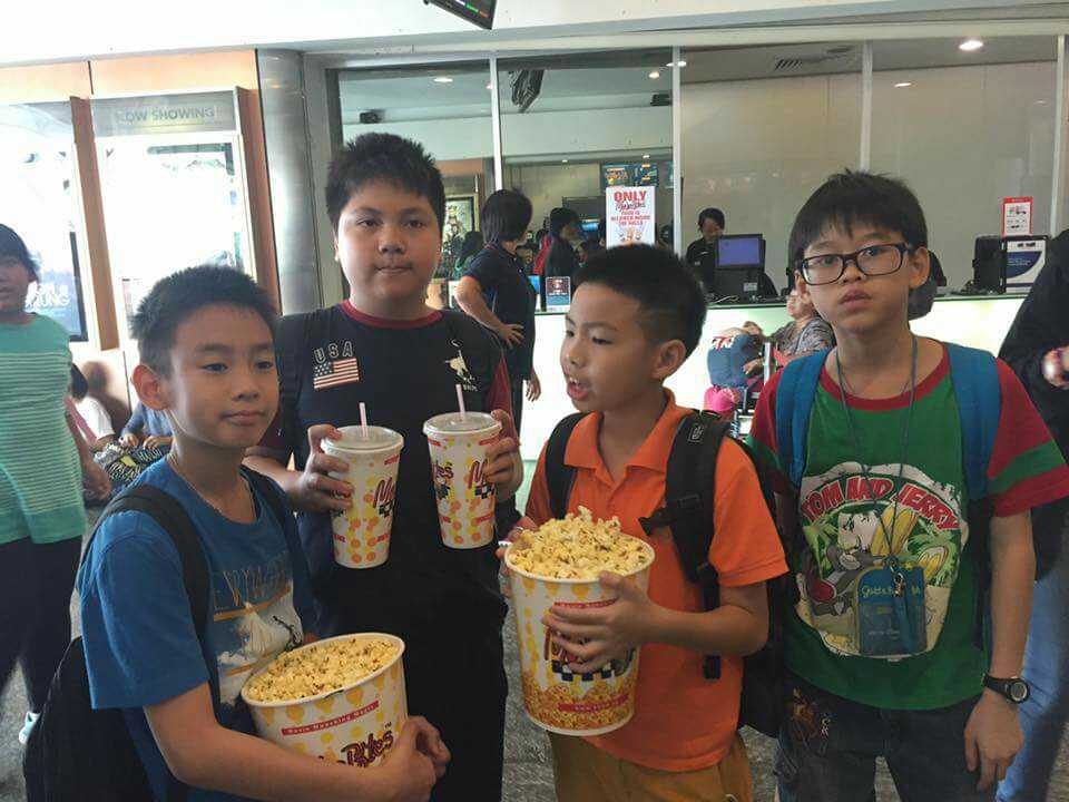 Movie Time in Singapore