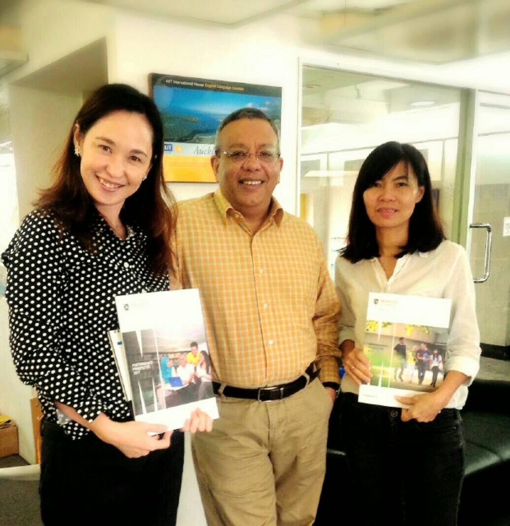 Mr. Jay Jayatilaka and Ms. Jenny Lee From Monash University Malaysia
