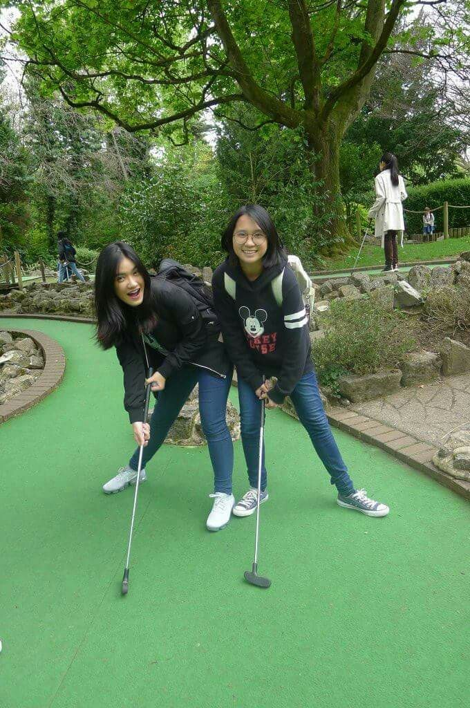 Crazy Golf in UK