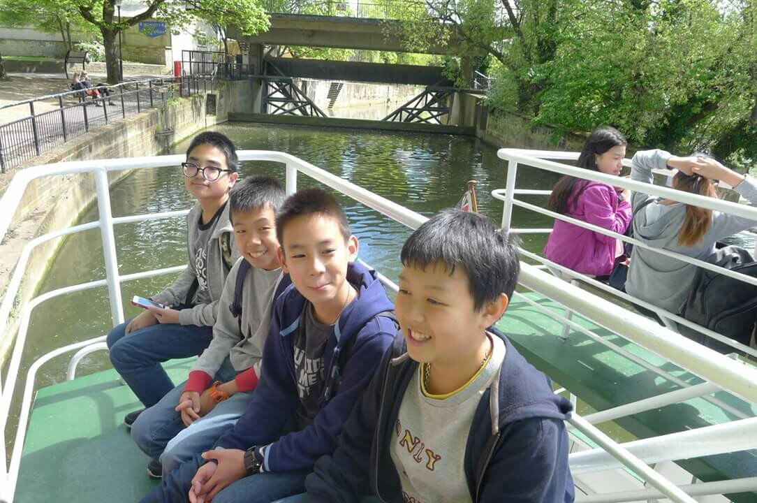 Boat Trip in UK